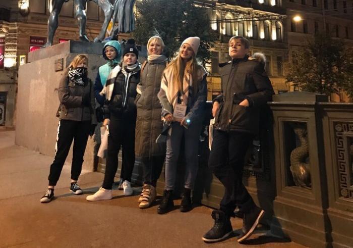 Юные анапские художники побывали в культурной столице России