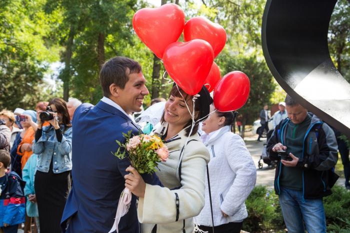 В Анапе заработал чудо-фонтан «Сердце влюблённых»