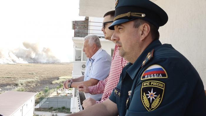 Огонь локализован, угроза жилью и строениям Анапы предотвращена