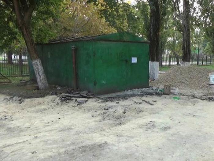 Дворы Анапы зачищают от металлических гаражей