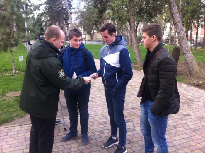 Молодые анапчане узнали о том, кто такой Герой России