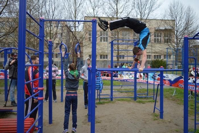 В Анапе появилось пять новых оборудованных мест для занятия спортом