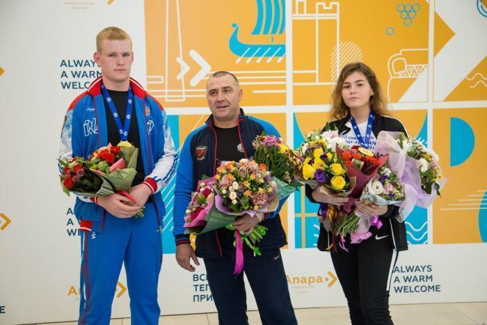 Анапские спортсмены привезли «золото» с мирового первенства по рукопашному бою