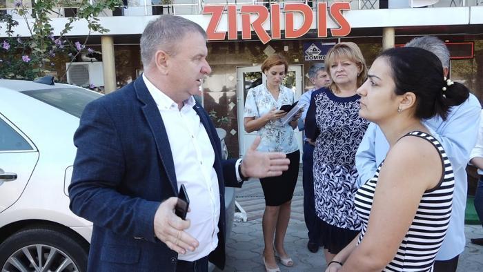 Первый зам.главы остался недоволен утренним объездом Витязевского сельского округа