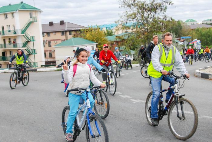 В Анапе верующие преодолели велосипедным крестным ходом 25 километров