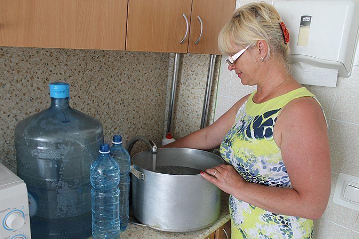 Анапчанам советуют 14 апреля запастись водой