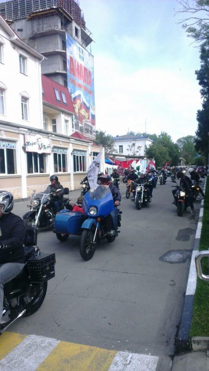 В День Победы состоялся мотопробег по местам памяти воинской славы