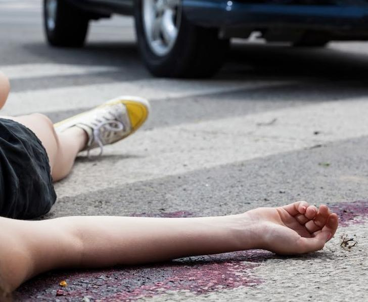 В Цибанобалке под Анапой водитель «Приоры» сбил девочку-подростка
