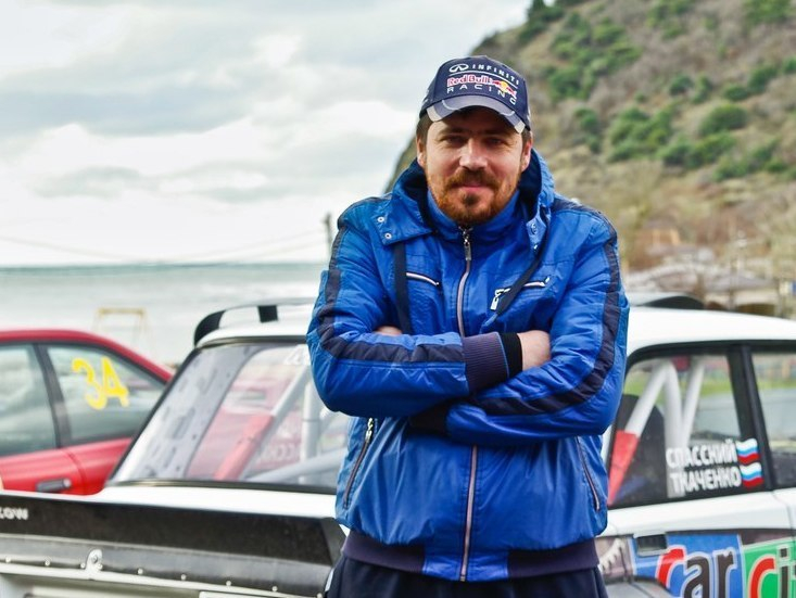 Анапчанин Андрей Самотей прославил Анапу на горных автогонках в Крыму