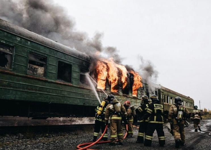 Любовь анапчанина к комфорту спасла пассажиров поезда от пожара