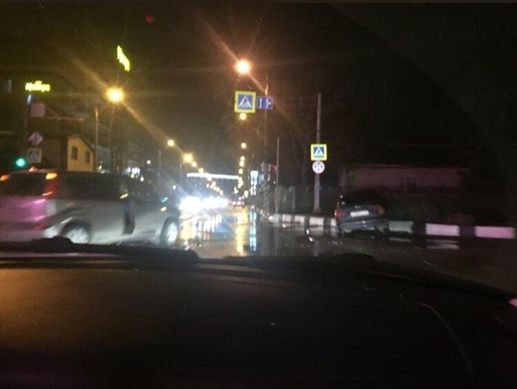 В Анапе на улице Северной одновременно случились две аварии