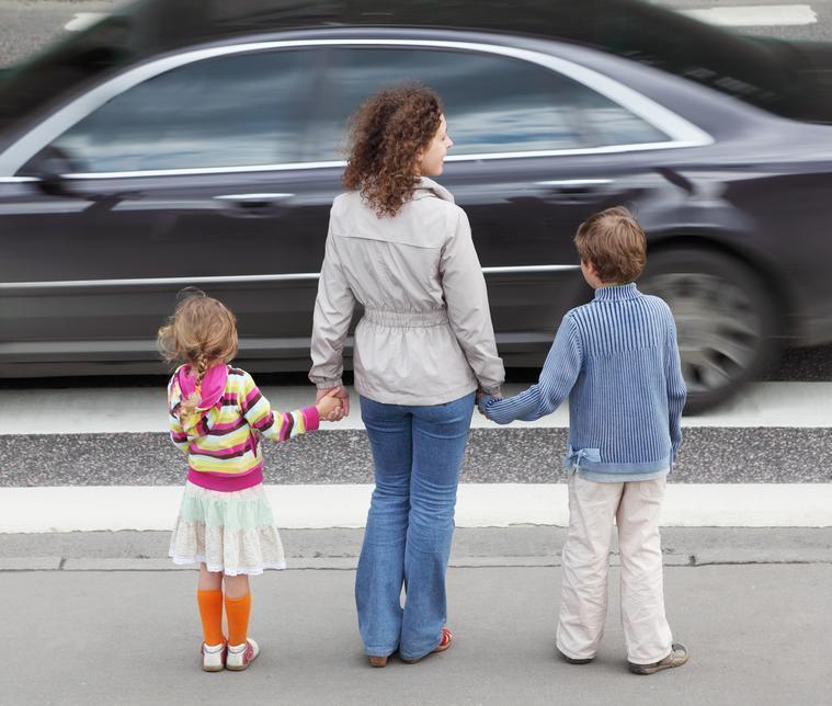 На анапских дорогах проводится мероприятие «Внимание — дети!»