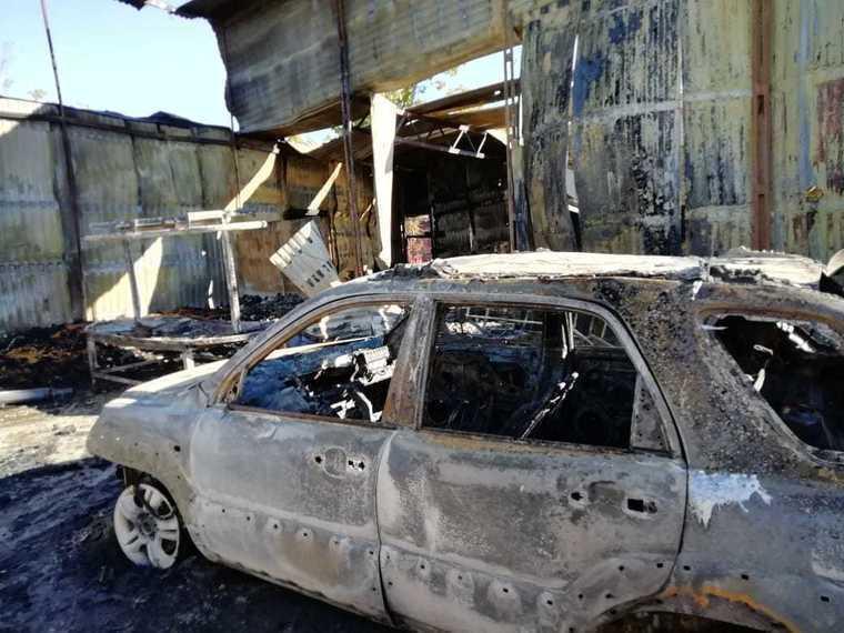 Недалеко от Анапы сгорела птицеферма