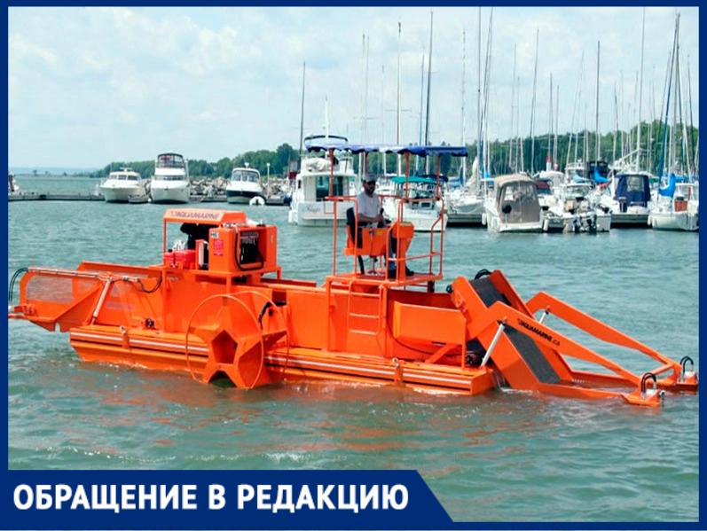 Анапе не новая Набережная нужна, а оборудование для очистки моря, - считает горожанин