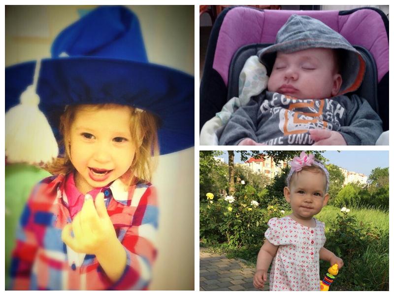 Анастасия, Андрей и Алиса - участники конкурса «Детки-конфетки»