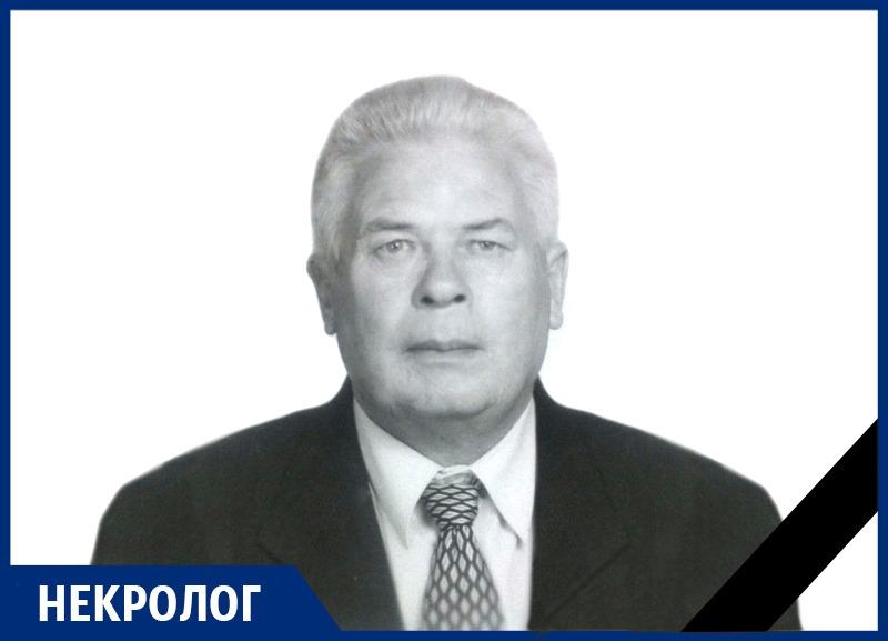 Ушёл из жизни Николай Михайлович Кусмарцев. Светлая память!