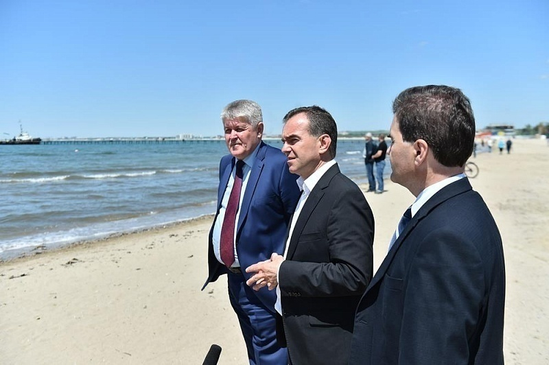 Губернатор Кубани раскритиковал центральный пляж Анапы