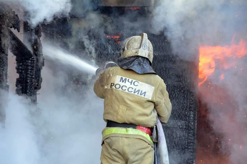 В Анапе оборванные провода вызвали пожар в «Чёрном море»