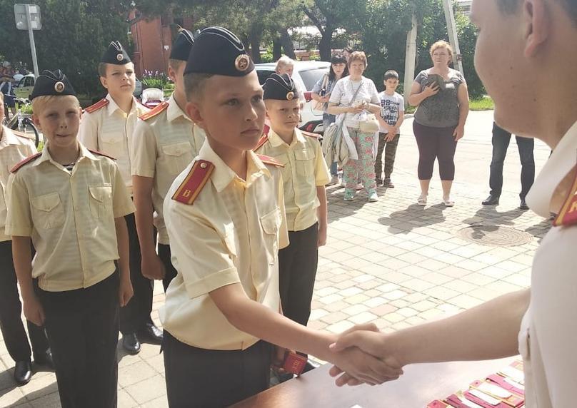 Анапские кадеты впервые в жизни приняли присягу: как это было