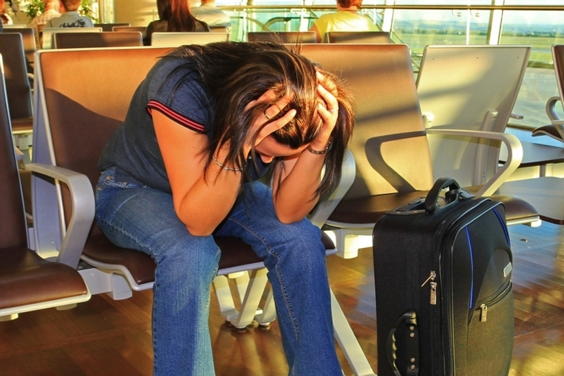 Отдыхающая в Анапе, сэкономив на авиабилетах, застряла в Москве и не добралась домой