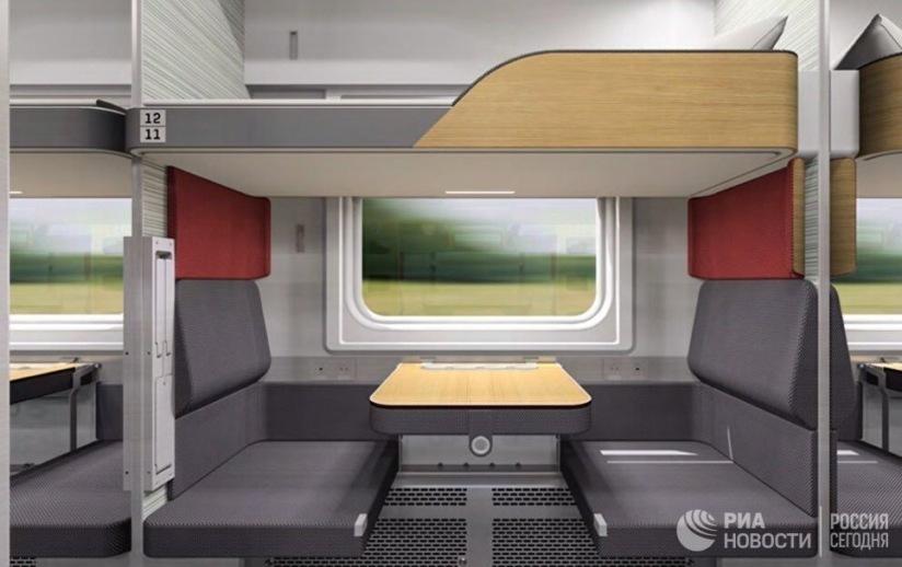 В новом году анапчане будут ездить в плацкартных вагонах, как в купе