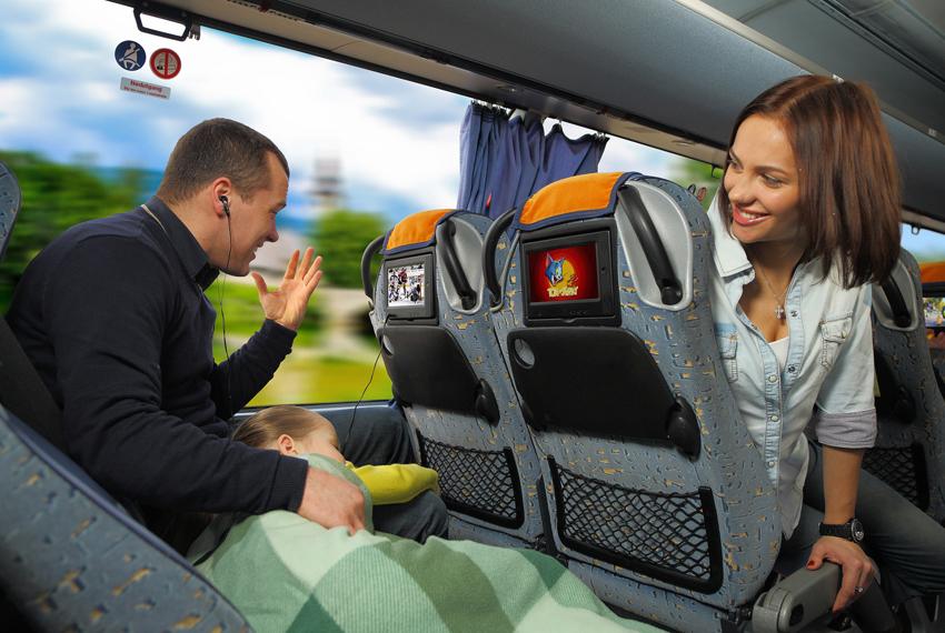 Из Москвы в Крым на автобусе мимо Анапы