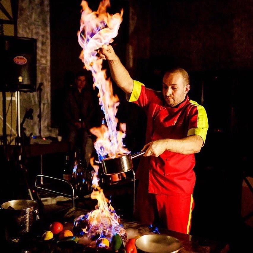 В «Винотеррии» под Анапой блюда подают от президента гильдии шеф-поваров Черного моря