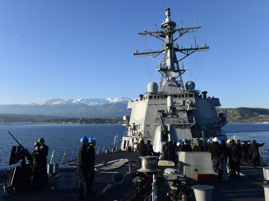 В Чёрном море курсирует уже второй по счёту американский ракетный корабль