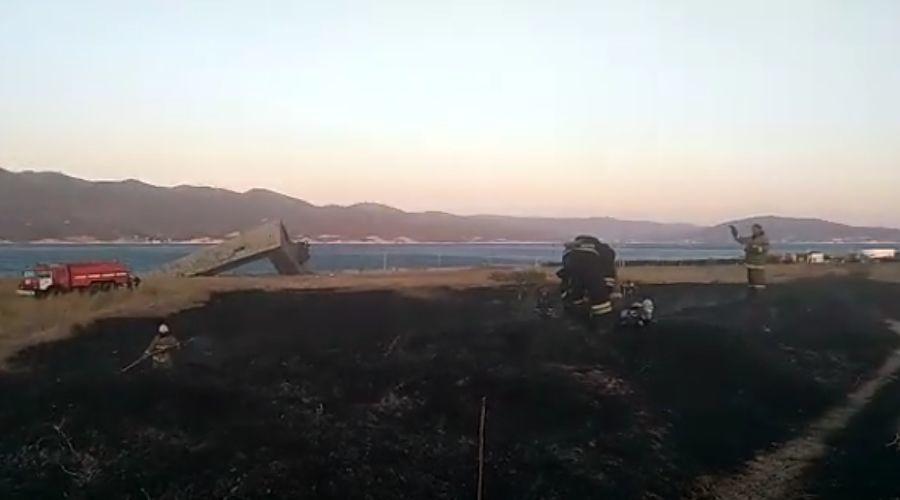 Анапчане обсуждают: в Новороссийске загорелась легендарная Малая земля