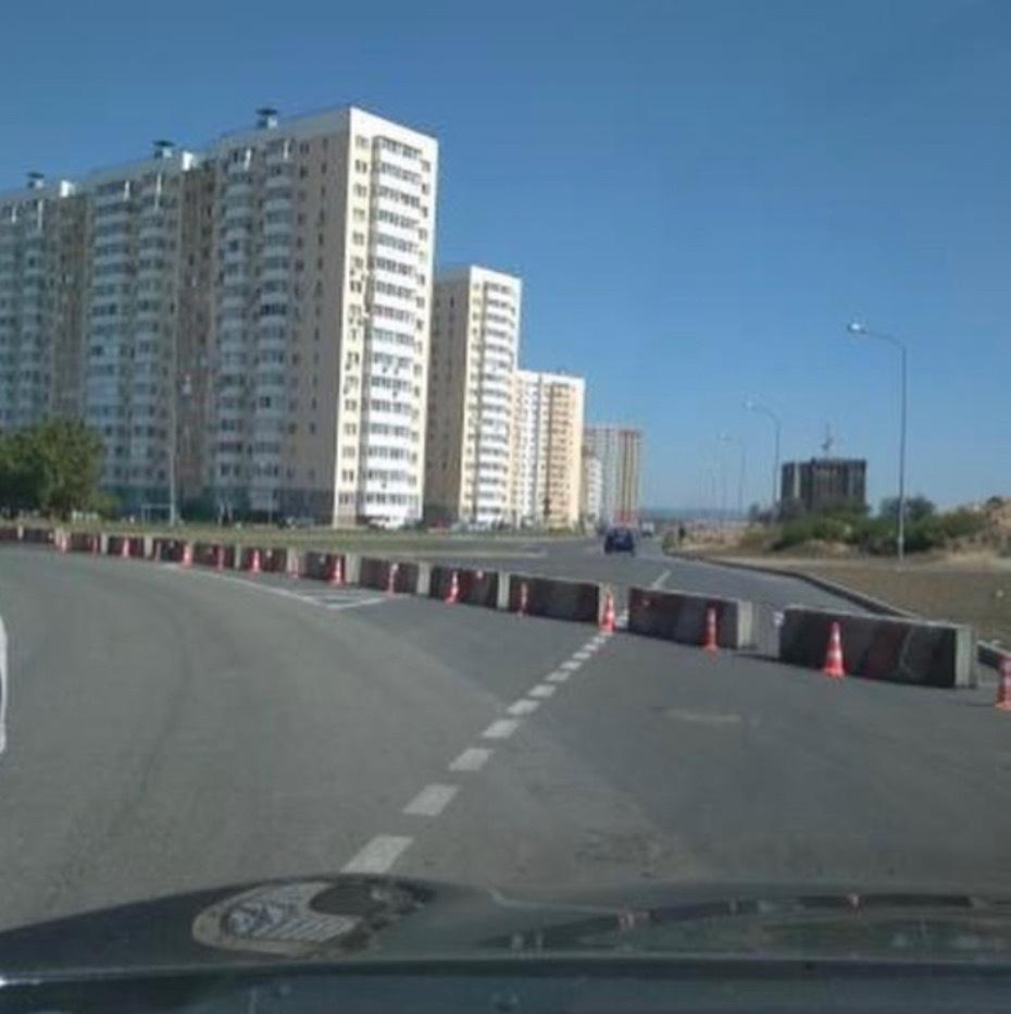 Почему перекрыли кольцо в Анапе на ул. Ленина - Владимирская?
