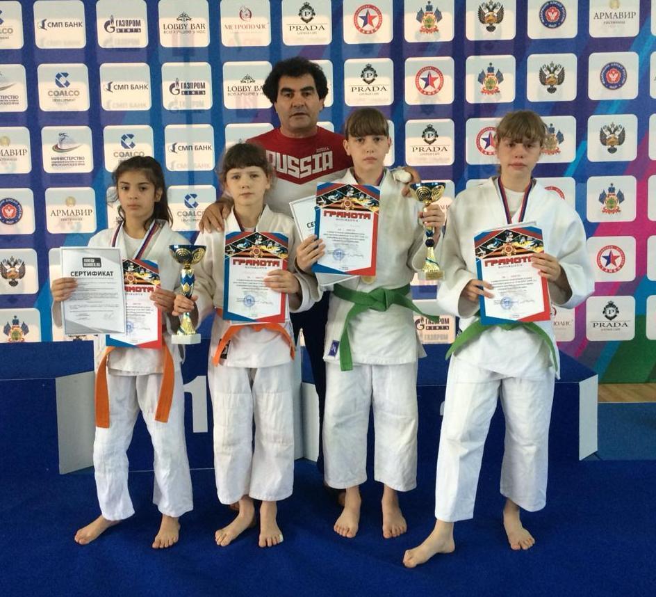 Анапские дзюдоисты привезли с турнира два «золота», два «серебра» и одну «бронзу»