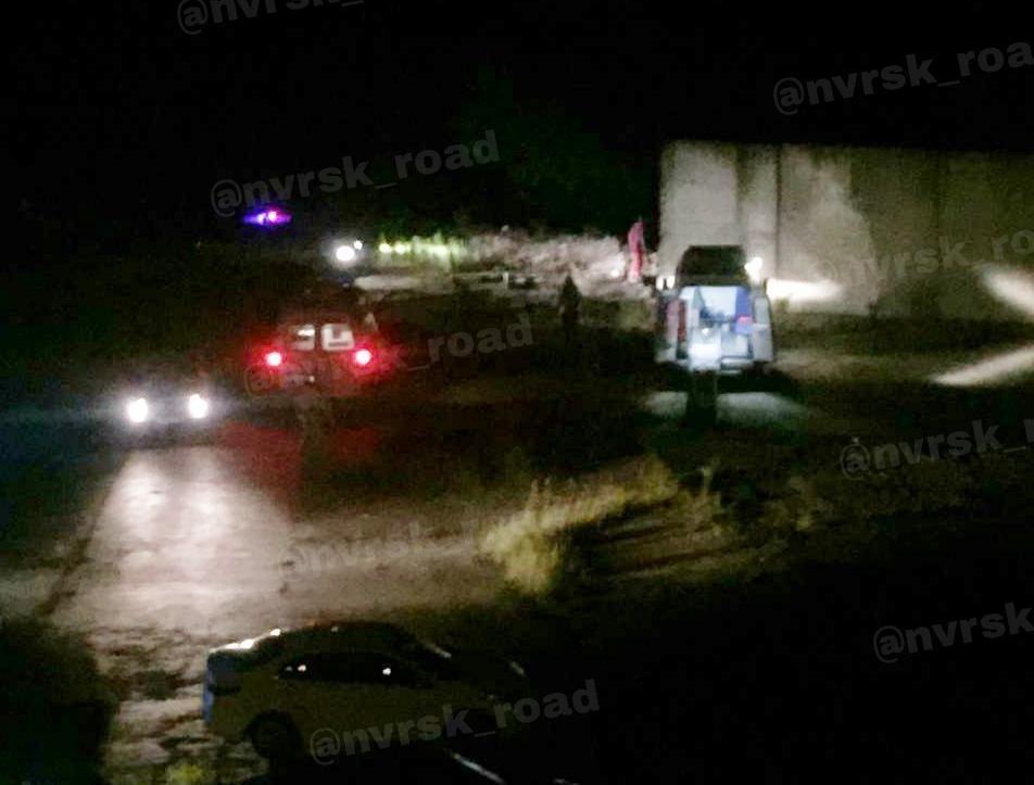 Появилось видео столкновения автобуса из Анапы с внедорожником
