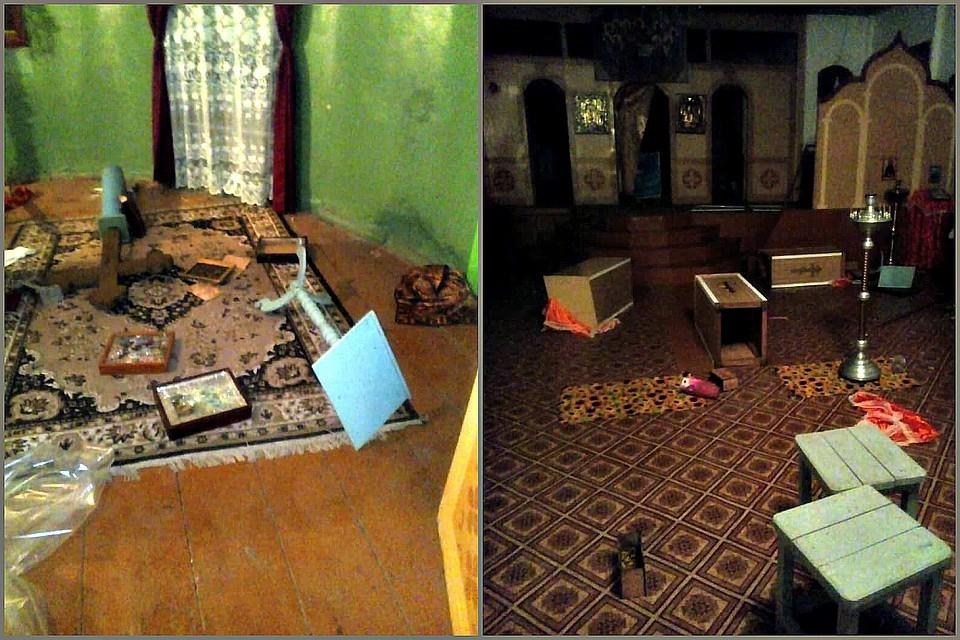 Анапчане в шоке: в Тихорецком районе подростки разгромили храм