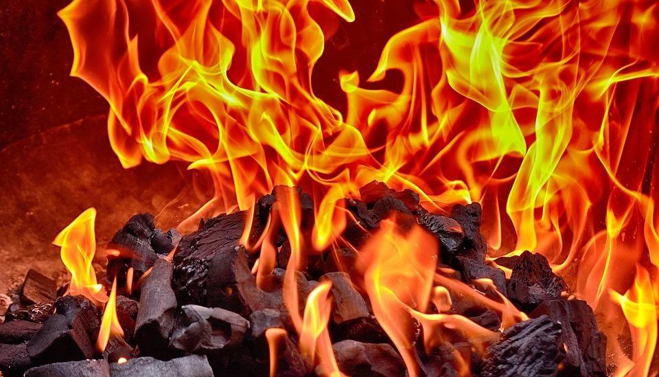 По соседству с Анапой сгорела баня