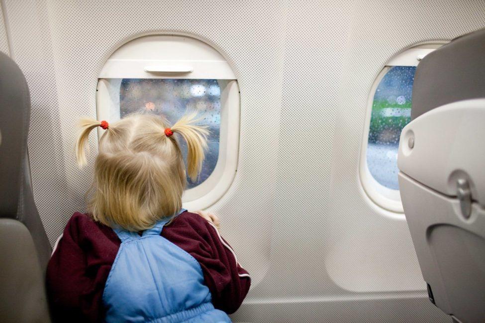 Дети стали чаще летать на самолётах в Анапу