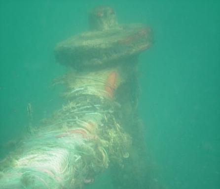 Интересный факт: в море под Анапой лежит сухогруз, принимавший участие в Великой Отечественной войне
