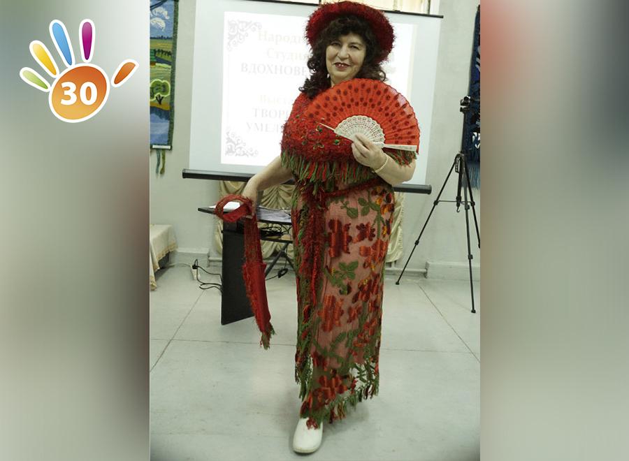 Тряпичные куклы, батик, вышивка Валентины Николаевны Глинской