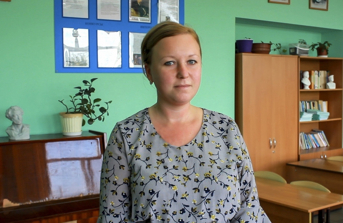 Анапчанка Анастасия Казарцева, участница конкурса «Учитель года - 2018»