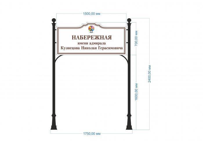 В Анапе установят информационные таблички в ретро-стиле