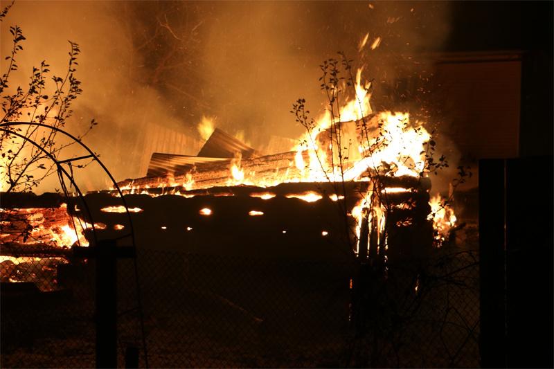 В результате пожара в строящемся здании умер пьяный 55-летний анапчанин