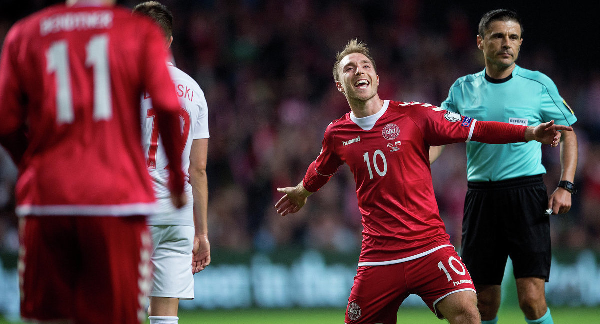 Вчера датская сборная выиграла товарищеский матч у Мексики 2:0