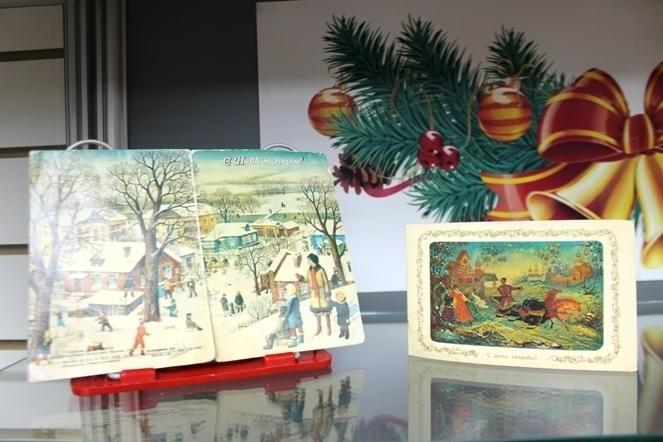 В анапском музее открылась выставка советских новогодних открыток