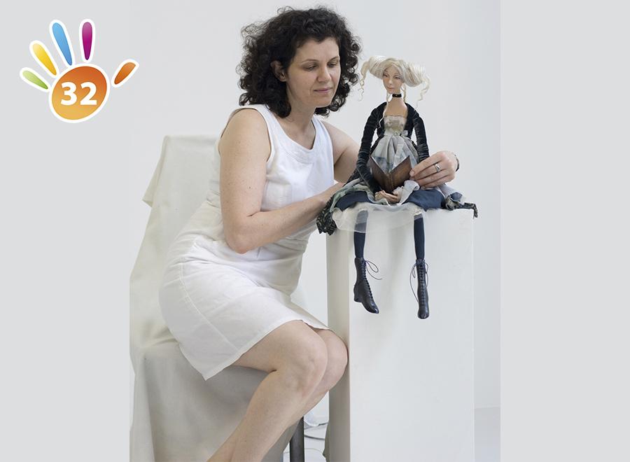 Авторские куклы Ирины Чечетко